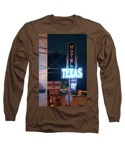 Fort Worth Hotel Texas 6616 Long Sleeve T-Shirt