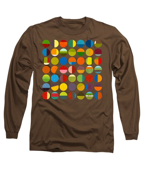 Forty Nine Circles Long Sleeve T-Shirt by Michelle Calkins