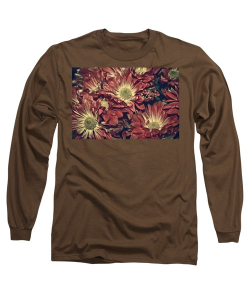 Foulee De Petales - 04b Long Sleeve T-Shirt by Variance Collections