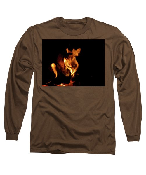 Fox Fire Long Sleeve T-Shirt