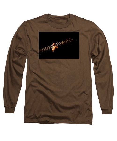Long Sleeve T-Shirt featuring the photograph Fractal Frets by Cameron Wood