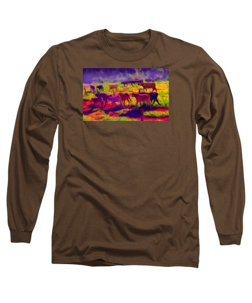 Franca Cattle 1 Long Sleeve T-Shirt