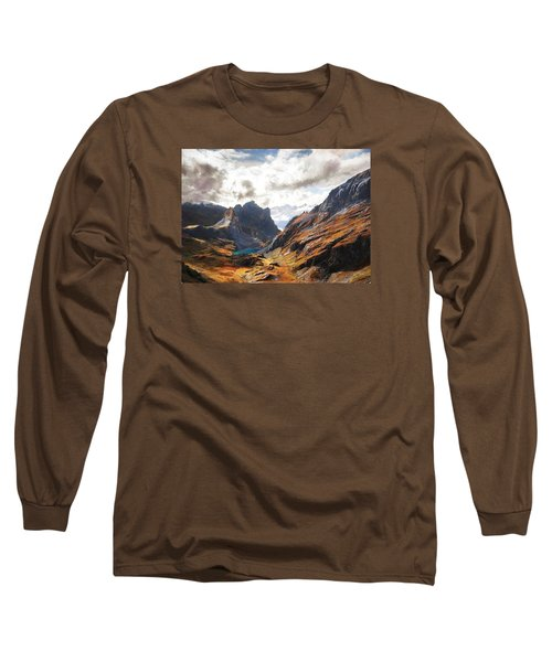 French Alps Long Sleeve T-Shirt