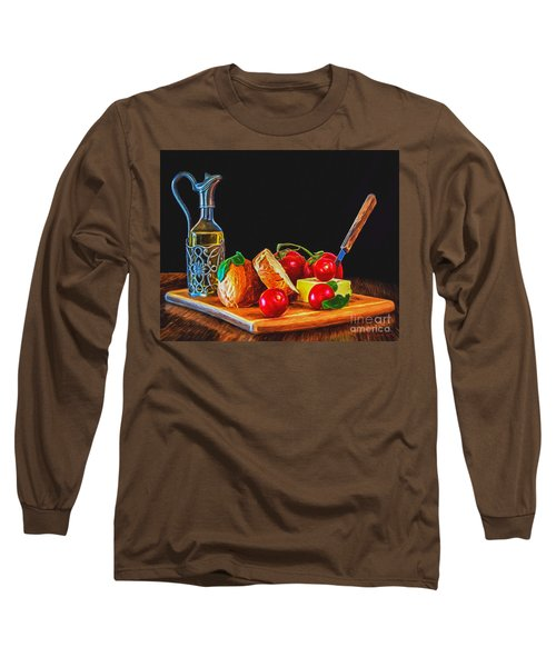 Fresh Appetizers - Painting Long Sleeve T-Shirt