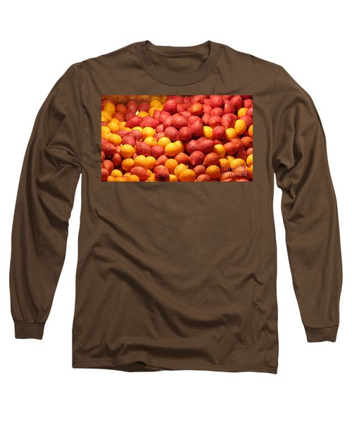 Long Sleeve T-Shirt featuring the photograph Fried Sweet Potato Balls by Yali Shi