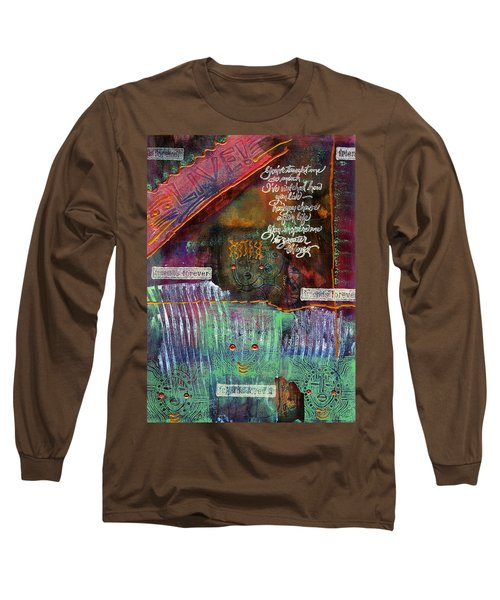 Friends Forever Long Sleeve T-Shirt by Angela L Walker