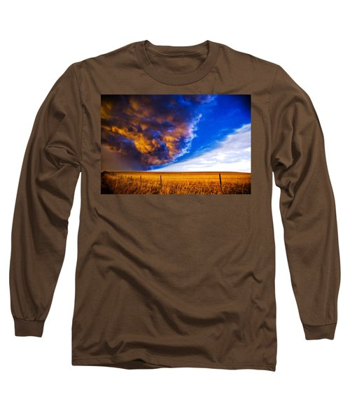Front At Sunset 2 Of 2 Long Sleeve T-Shirt