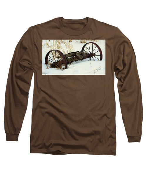 Frozen In Time Long Sleeve T-Shirt by Janice Westerberg