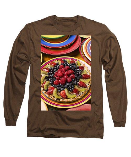 Fruit Tart Pie Long Sleeve T-Shirt