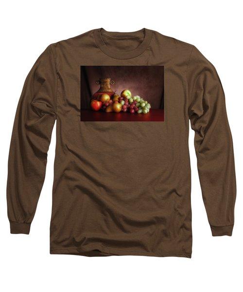 Fruit With Vase Long Sleeve T-Shirt