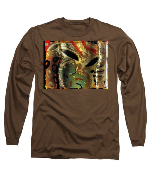 Fu Dog Mask Madness Long Sleeve T-Shirt