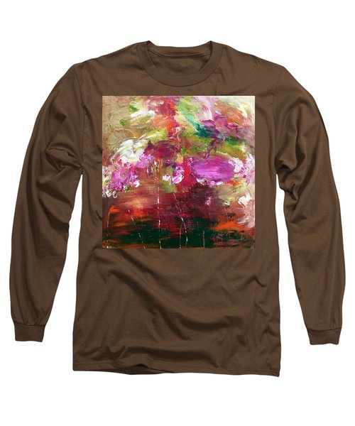 Fuchsia Burst Long Sleeve T-Shirt