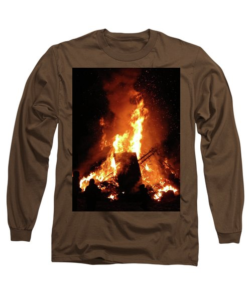 Full Bonfire Long Sleeve T-Shirt