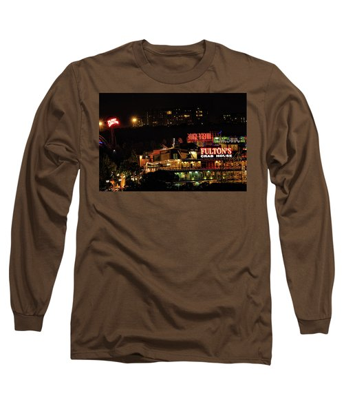 Fultons At Epcot Long Sleeve T-Shirt by Pat Cook