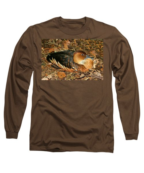 Fulvous Whistling Duck Long Sleeve T-Shirt