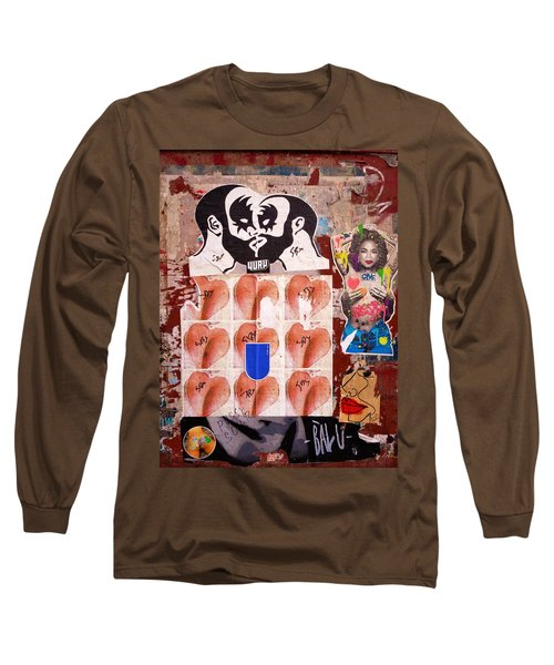 Funky New York Street Art  Long Sleeve T-Shirt