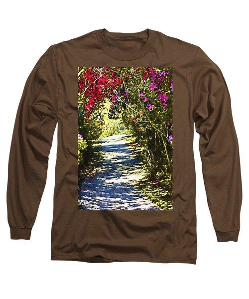 Long Sleeve T-Shirt featuring the photograph Garden by Donna Bentley