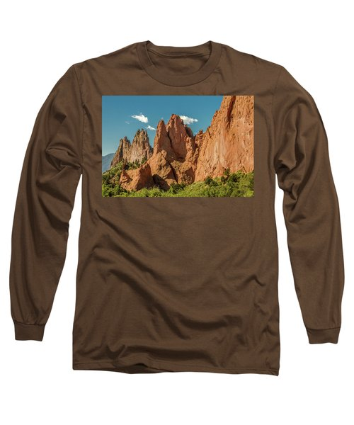 Long Sleeve T-Shirt featuring the photograph Garden Of The Gods by Bill Gallagher