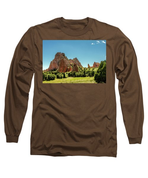 Long Sleeve T-Shirt featuring the photograph Garden Of The Gods II by Bill Gallagher
