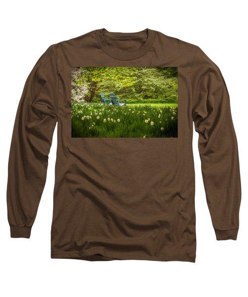 Garden Seats Long Sleeve T-Shirt