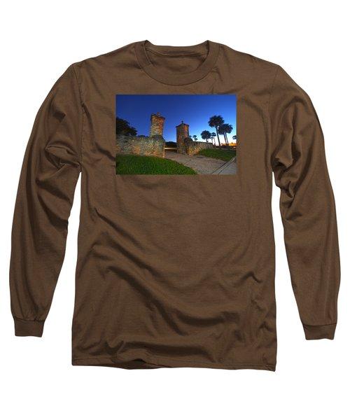 Gates Of The City Long Sleeve T-Shirt by Robert Och