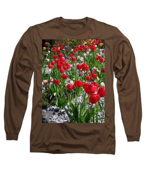 Gathering Of Joy Long Sleeve T-Shirt by Rory Sagner