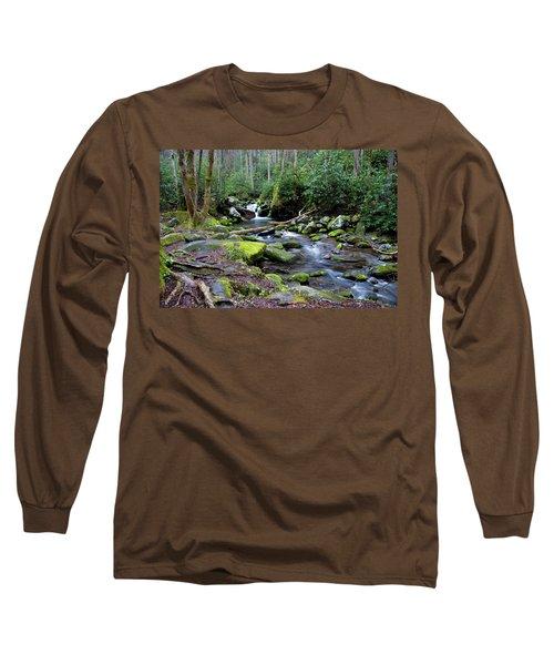 Gatlinburg Water Long Sleeve T-Shirt