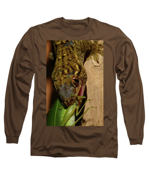 Gecko Feed Long Sleeve T-Shirt