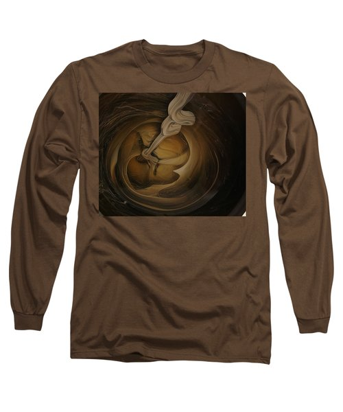 Genie In The Toilet Long Sleeve T-Shirt