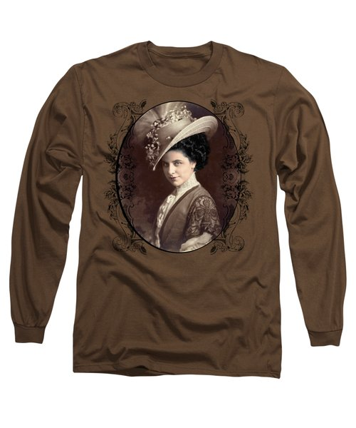 Geraldine Farrar Long Sleeve T-Shirt