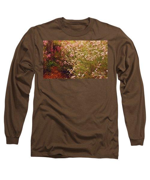 Geraldton Wax Shades Long Sleeve T-Shirt by Cassandra Buckley