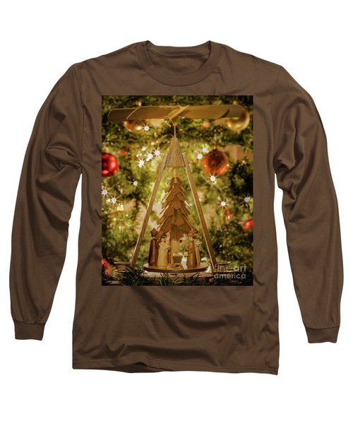 German Christmas Pyramid Long Sleeve T-Shirt