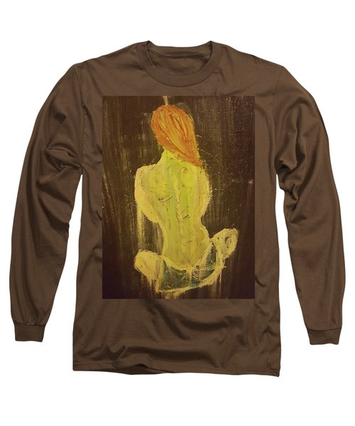 Silence Long Sleeve T-Shirt by Jennifer Meckelvaney