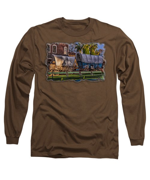 Ghost Of Old West No.2 Long Sleeve T-Shirt