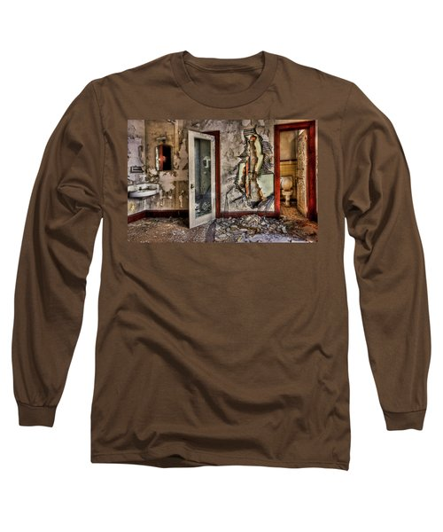 Ghost Of Time Long Sleeve T-Shirt