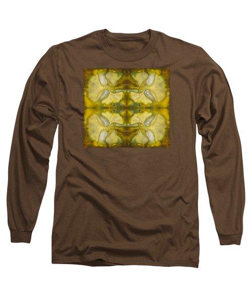 Long Sleeve T-Shirt featuring the photograph Gingko Quad by Joye Ardyn Durham