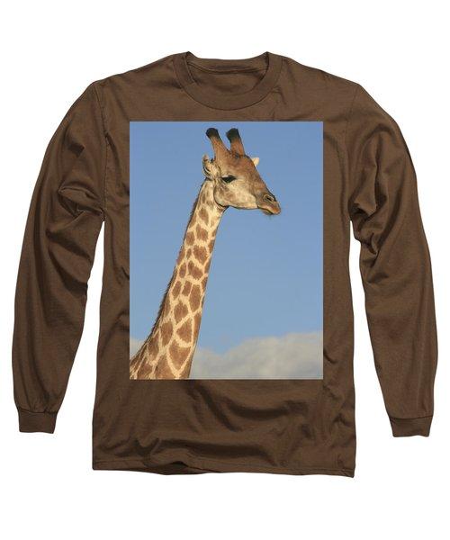 Giraffe Portrait Long Sleeve T-Shirt