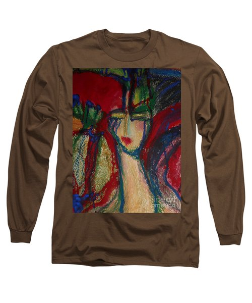 Girl In Darkness Long Sleeve T-Shirt