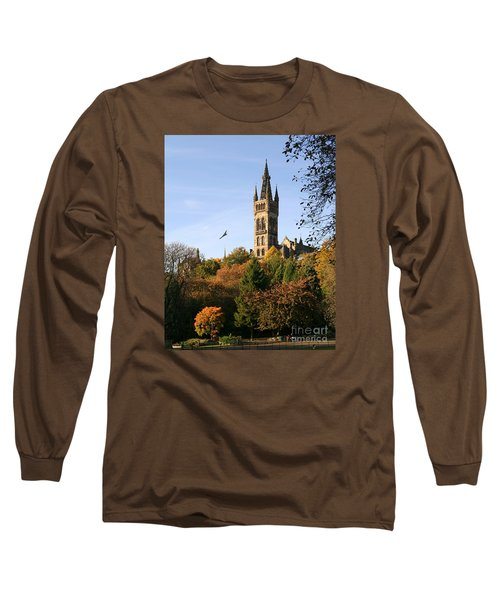 Glasgow University Long Sleeve T-Shirt by Liz Leyden