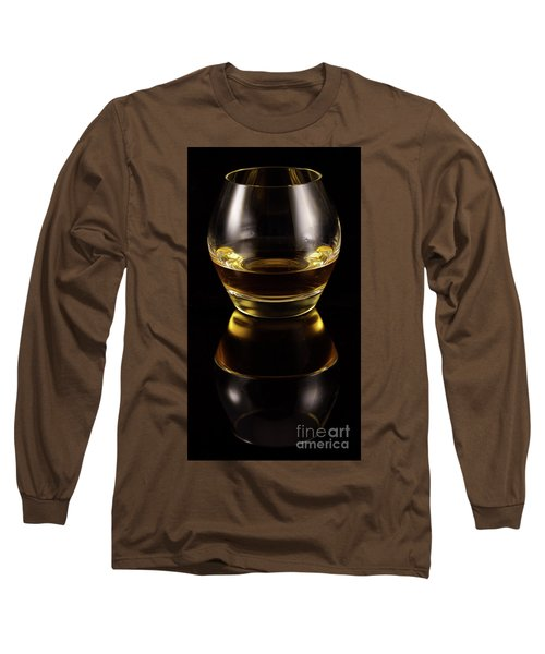Glass Of Whiskey Long Sleeve T-Shirt