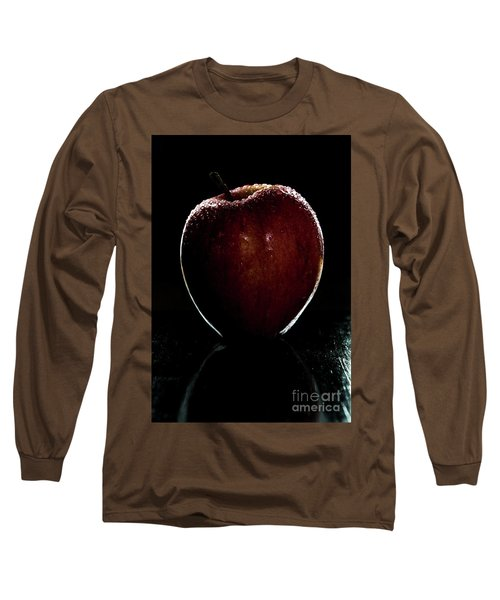 Glistening Red Long Sleeve T-Shirt