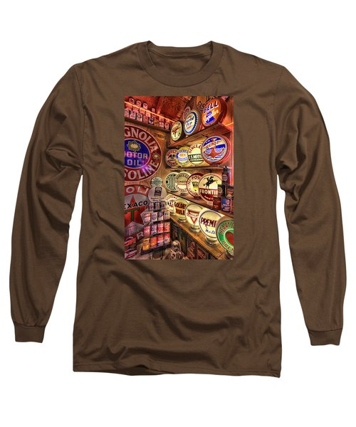 Globes Of The Past Long Sleeve T-Shirt
