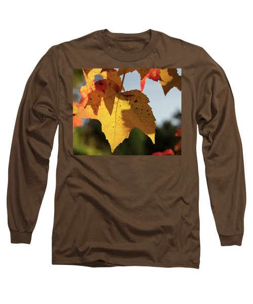Glowing Leaves Long Sleeve T-Shirt