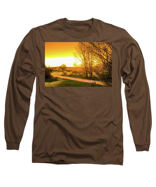 Glowing Sunset Long Sleeve T-Shirt