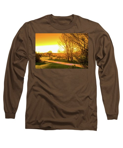Glowing Sunset Long Sleeve T-Shirt