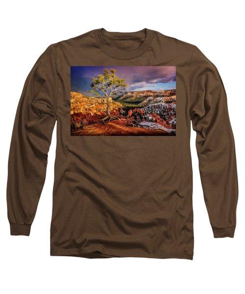 Gnarled Tree At Bryce Canyon Long Sleeve T-Shirt