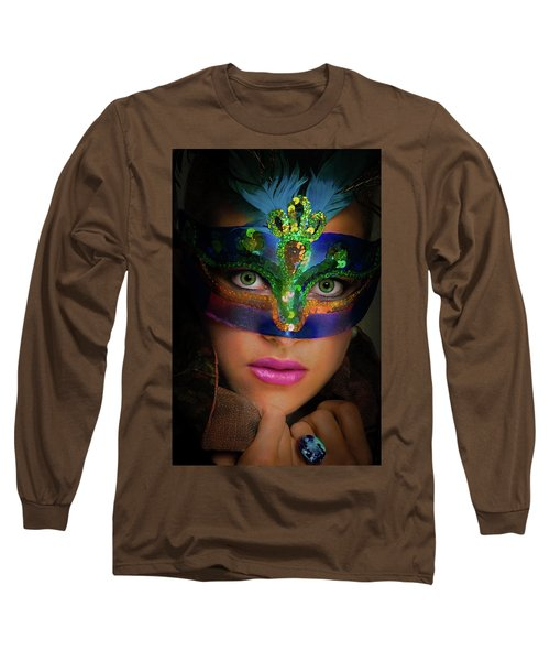 Goddess Long Sleeve T-Shirt by David Clanton