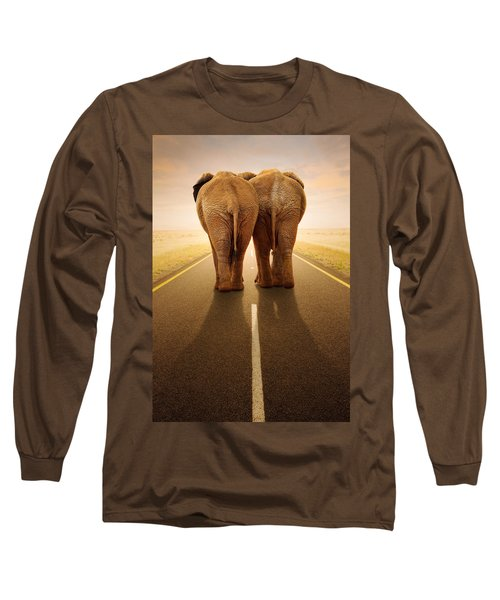 Going Away Together / Travelling By Road Long Sleeve T-Shirt