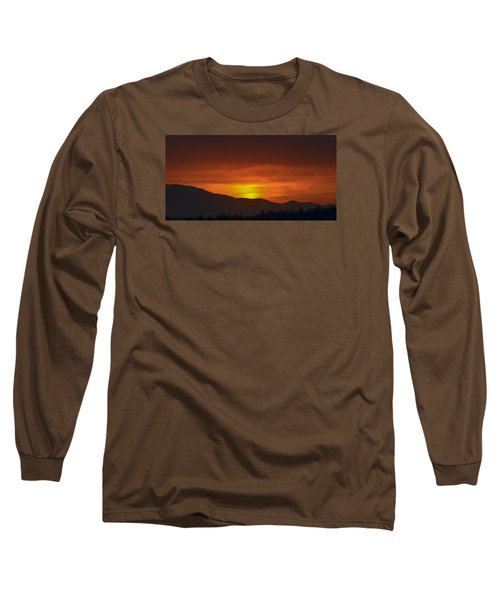 Long Sleeve T-Shirt featuring the photograph Going Down by Ronda Broatch