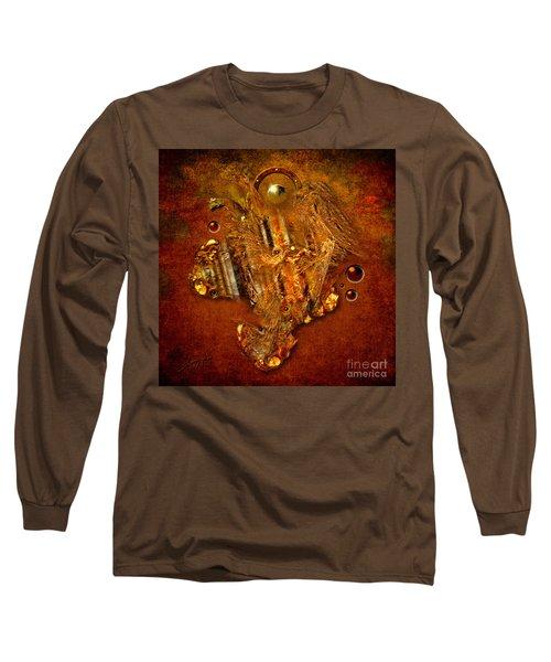 Gold Angel Long Sleeve T-Shirt